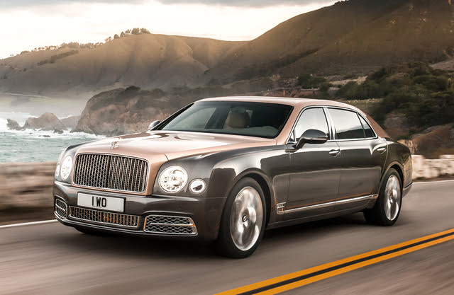 2020 Bentley Mulsanne, Front-quarter view, exterior, manufacturer, gallery_worthy
