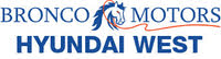 Bronco Motors Hyundai West logo