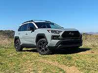 2020 Toyota RAV4 TRD Off-Road Lunar Rock Gray Front View, gallery_worthy