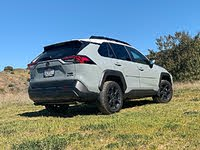 2020 Toyota RAV4 TRD Off-Road Lunar Rock Gray Front View, exterior, gallery_worthy