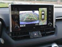 2020 Toyota RAV4 Reversing Camera Display, interior, gallery_worthy