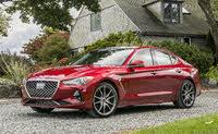 2020 Genesis G70, Front-quarter view, exterior, manufacturer, gallery_worthy