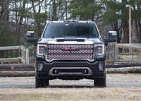 Front profile of the 2020 GMC Sierra 2500HD., gallery_worthy