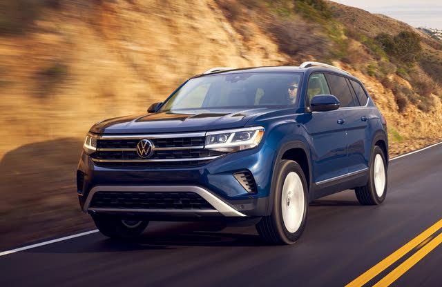 2021 Volkswagen Atlas, Front-quarter view, exterior, manufacturer, gallery_worthy