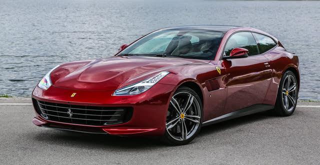 2020 Ferrari GTC4Lusso, Front-quarter view, exterior, manufacturer, gallery_worthy