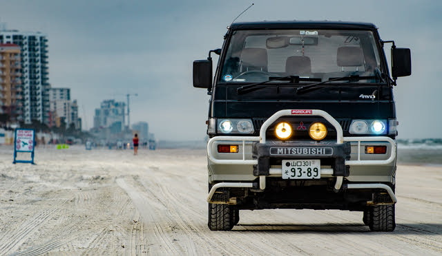 Picture of 1993 Mitsubishi Delica, exterior, gallery_worthy