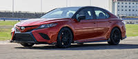 Picture of 2020 Toyota Camry TRD FWD, exterior, gallery_worthy