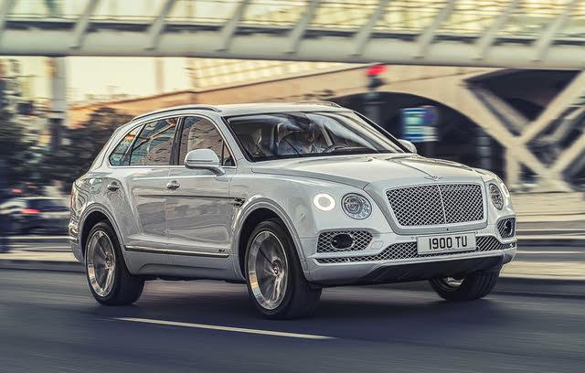 2020 Bentley Bentayga Hybrid, Front-quarter view, exterior, manufacturer, gallery_worthy