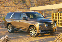 2021 Cadillac Escalade, Front-quarter view, exterior, manufacturer, gallery_worthy
