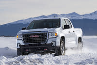 2021 GMC Canyon, Front-quarter view, exterior, manufacturer, gallery_worthy