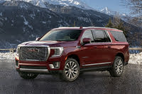 2021 GMC Yukon XL, Front-quarter view, exterior, manufacturer, gallery_worthy