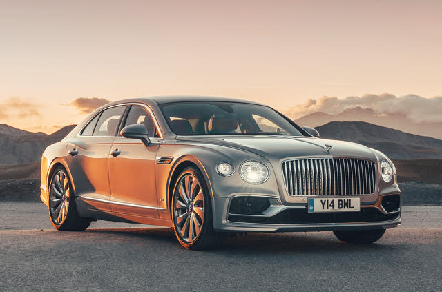 2020 Bentley Flying Spur, Front-quarter view, exterior, manufacturer, gallery_worthy