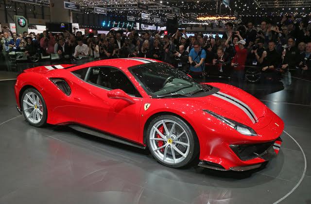 2020 Ferrari 488, Front-quarter view, exterior, manufacturer, gallery_worthy
