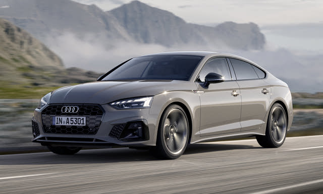2020 Audi A5 Sportback, Front-quarter view, exterior, manufacturer, gallery_worthy