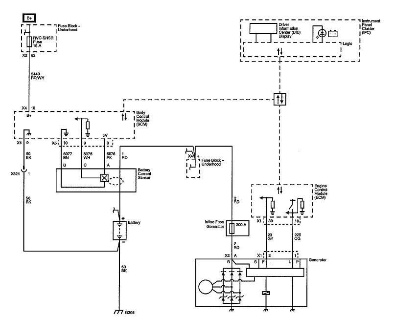 Gmc Alternator Wiring Diagram Pics