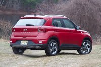 Rear 3/4 profile of the 2020 Hyundai Venue., gallery_worthy
