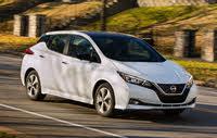 2020 Nissan LEAF, Front-quarter view, exterior, manufacturer, gallery_worthy