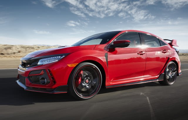 2020 Honda Civic Type R, Front-quarter view, exterior, manufacturer, gallery_worthy