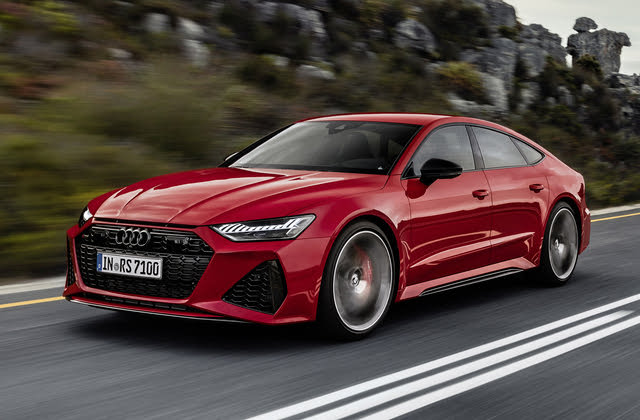 2021 Audi RS 7, Front-quarter view, European model, exterior, manufacturer, gallery_worthy