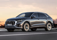 2020 Audi SQ8, Front-quarter view, exterior, manufacturer, gallery_worthy