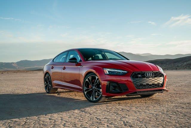 2020 Audi S5 Sportback front-quarter view