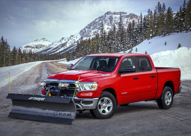 2021 Ram 1500 with optional Snow Plow Prep package
