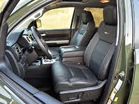 2020 Toyota Tundra TRD Pro CrewMax Black Leather Front Seats, gallery_worthy