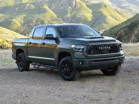 2020 Toyota Tundra TRD Pro CrewMax in Army Green, exterior, gallery_worthy