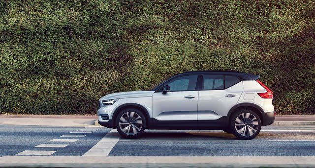 2021 Volvo XC40 Recharge P8 AWD, exterior, manufacturer, gallery_worthy