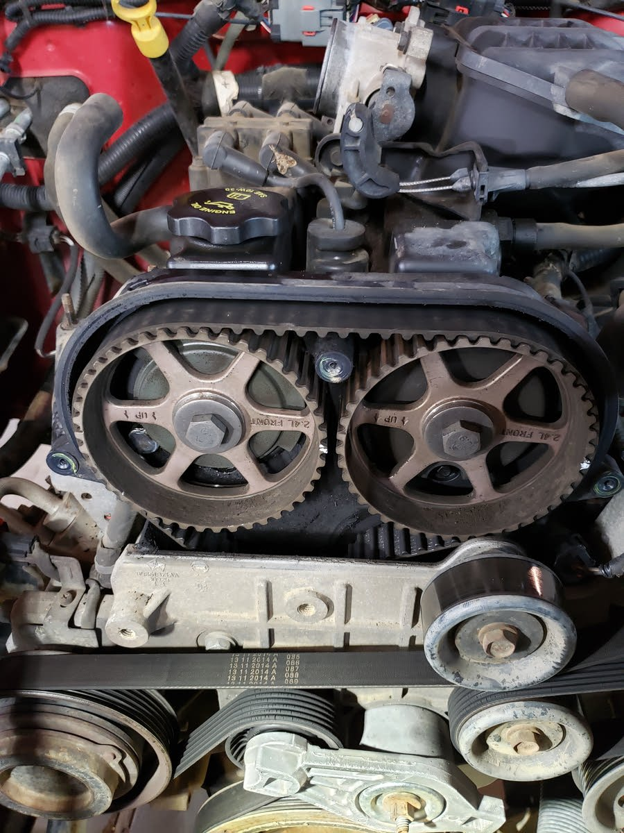 jeep wrangler questions - will a stripped timing belt bend valves? -  cargurus  cargurus
