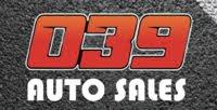 039 Auto Sales logo
