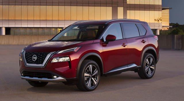 2021 Nissan Rogue front-quarter, exterior, manufacturer, gallery_worthy
