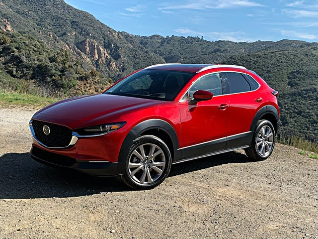 2020 Mazda CX-30 Premium Red Front Quarter Right