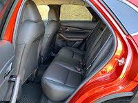 2020 Mazda CX-30 Premium Black Leather Back Seat, gallery_worthy