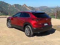 2020 Mazda CX-30 Premium Red Rear Quarter Left, gallery_worthy