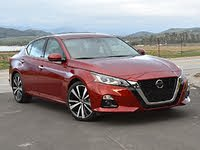 2020 Nissan Altima Platinum VC-Turbo Red Front, gallery_worthy