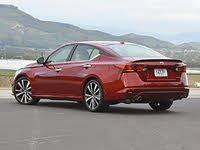 2020 Nissan Altima Platinum VC-Turbo Red Rear, gallery_worthy