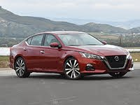 2020 Nissan Altima Platinum VC-Turbo Red Front, exterior, gallery_worthy