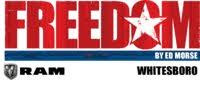 Freedom Ram Trucks by Ed Morse logo