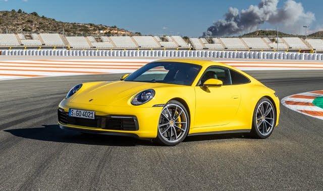 2020 Porsche 911 front-quarter view