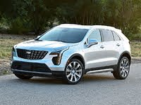 2020 Cadillac XT4 Premium Luxury Silver Front View, gallery_worthy