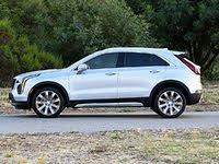2020 Cadillac XT4 Premium Luxury Silver Side View, gallery_worthy