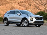 2020 Cadillac XT4 Premium Luxury Silver Front View, exterior, gallery_worthy