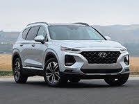 2020 Hyundai Santa Fe Limited 2.0T Silver Front View, gallery_worthy
