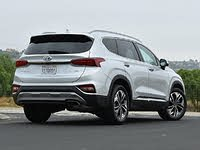 2020 Hyundai Santa Fe Limited 2.0T Silver Rear View, gallery_worthy