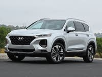 2020 Hyundai Santa Fe Limited 2.0T Silver Front View, exterior, gallery_worthy