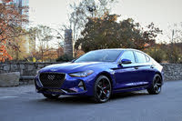 2020 Genesis G70 front-quarter, exterior, gallery_worthy