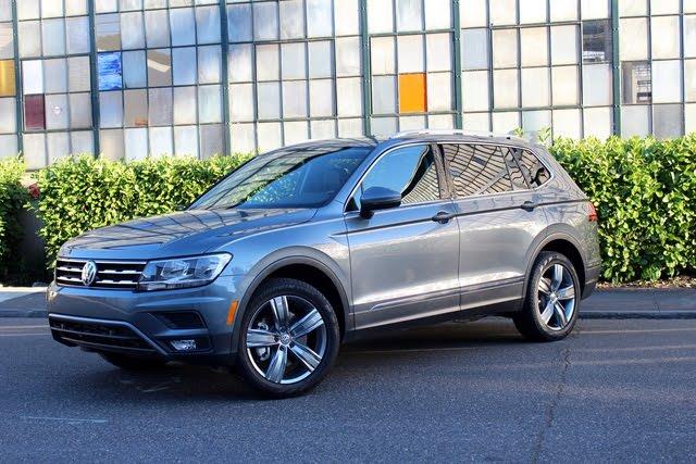 2020 VW Tiguan front