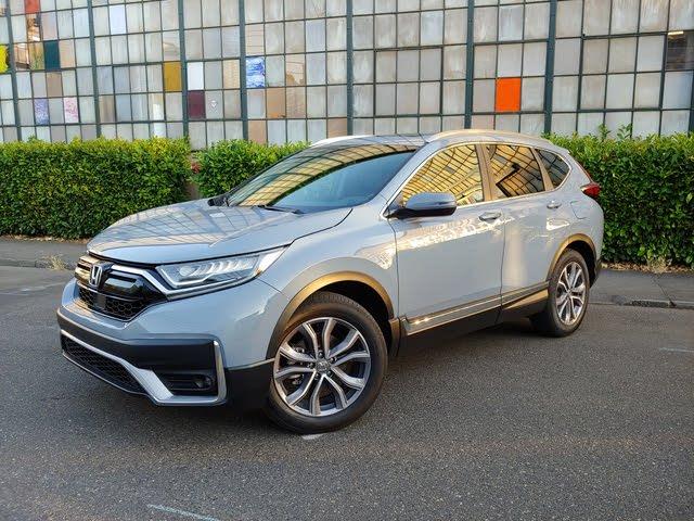 2020 Honda CR-V front