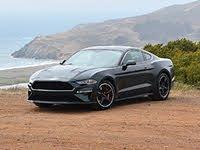 2020 Ford Mustang Bullitt Dark Highland Green Rear Quarter View Ocean, exterior, gallery_worthy